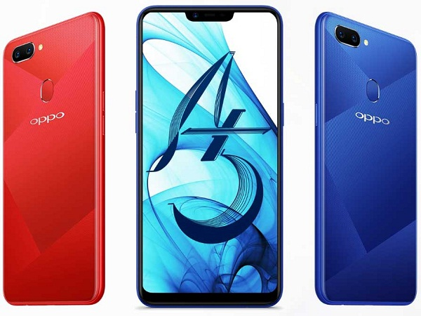 deb8b1b3e OPPO launches A5 with Super Full Screen Display and Dual Cameras ...